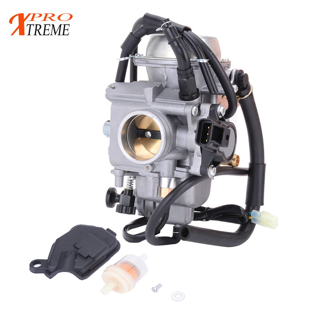 GOOFIT 36MM Carburetor Replace for 2004 2005 2006 2007 Arctic Cat 500 Carb 4x4 Motorcycle Motorbike Engine