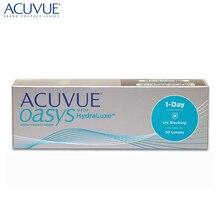 Контактные линзы Acuvue® Oasys 1-Day HydraLuxe®(30 шт) R: 9.0