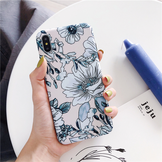 Flower Phone Cases For Apple iPhone