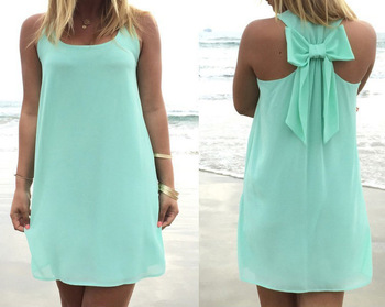 Summer dress 2019 summer style women casual chiffon sundress plus size women clothing beach dress 1