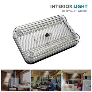 Image 2 - DC 12V Bianco 36 LED Luce Interna Luce del Tetto Caravan Van Sprinter Per Il Transito del Tetto Della Cupola
