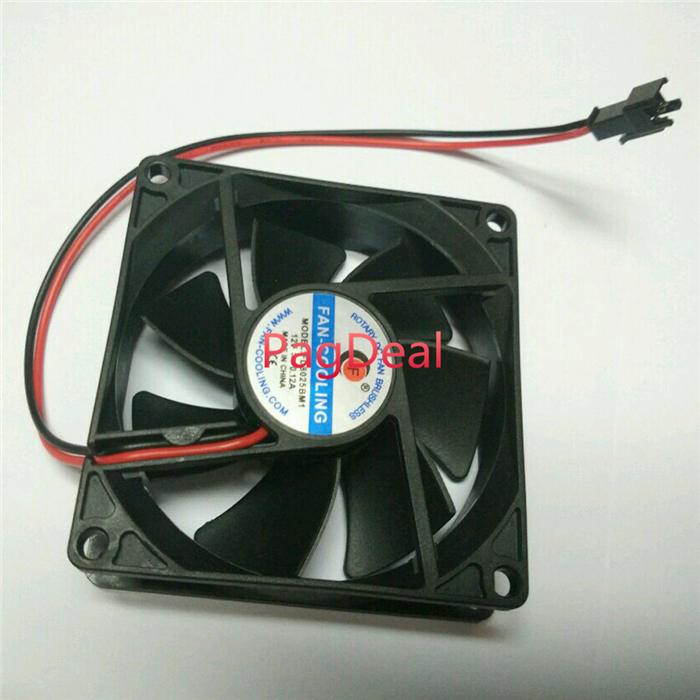 Replacement Cooling Fan For 300W 400W 600W High Power LED Grow Light Led Aquarium Fish Tank Light Cooling Cooler 12V