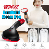 Household Steam Iron Machine Portable Handheld Garment Steamer for Household Travel Mini Electric Fabric Steam Clothes Ironing