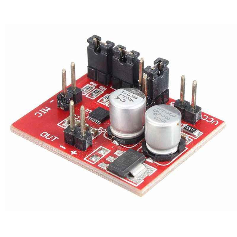 MAX9814 DC 3V-12V Electret Microphone Amplifier Board with AGC Function+Cab