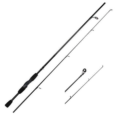 Cheap 1.8M 2.1M Spinning Rods 4-21g Lure Weight M Power EVA Handle Carbon Fiber Lure Baitcasting Rod Spinning Fishing Rod Pakistan