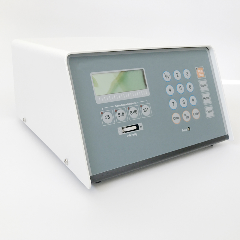 Biology lab use Ultrasonic Processor for Dispersing, Homogenizing and Mixing Liquid Chemicals