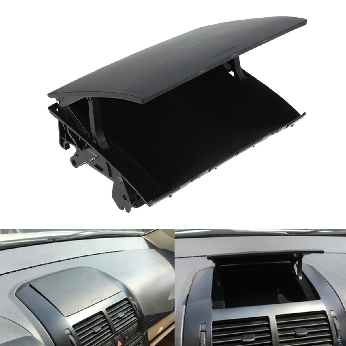 Black Car Front Center Console Dashboard Storage Box Holder Organizer For VW Polo 2002 2003 2004 2005-2008 6Q0857465A 6Q0857465