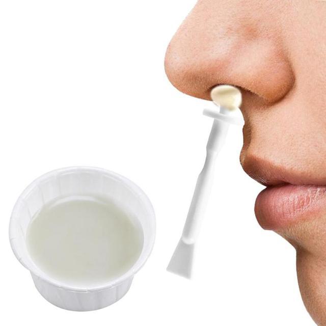 Portatile Kit di Cera Naso di Rimozione Dei Capelli di controllo manuale Naso di Rimozione Dei Capelli Capelli Nasale Trimmer Bastone Strumento di Pulizia Strumento di Cosmetici