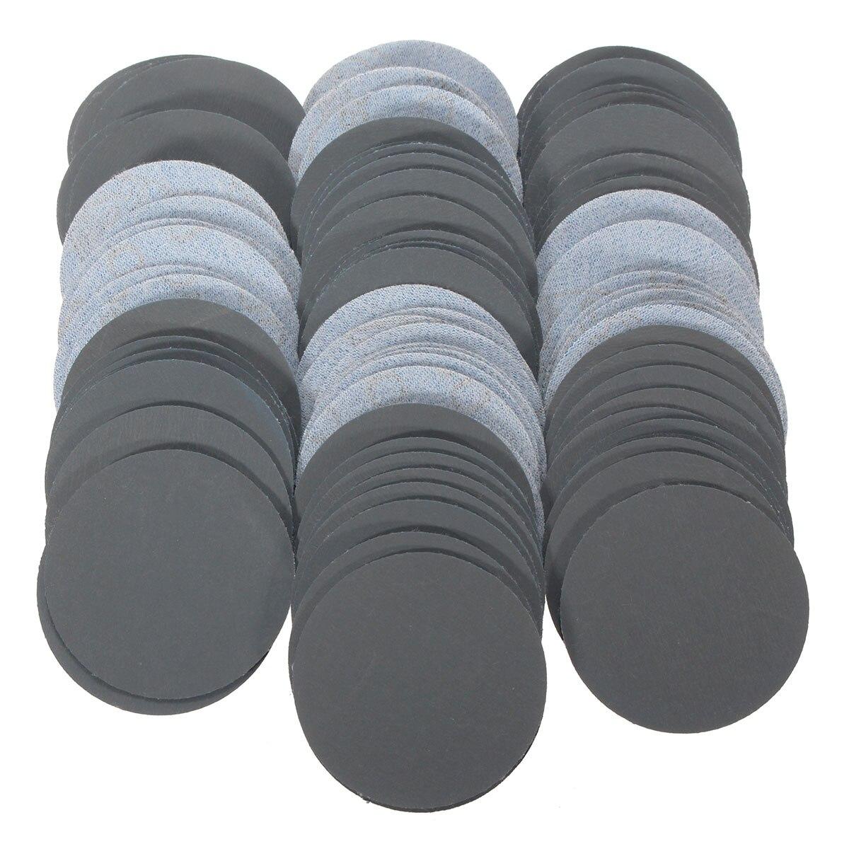 100pcs/set Sanding Disc 3000 Grit 2inch Sandpaper 50mm Polishing Pad Sandpaper For Cleaning Polishing Use