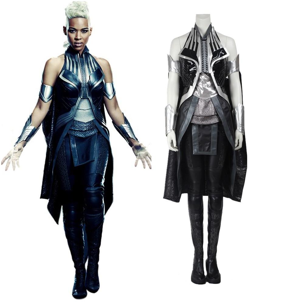 New X-Men Apocalypse Ororo Munroe Storm Cosplay Costume