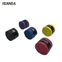 Yernea 5Pcs/Lot Fishing Rod Handle Strap Tennis Racket Grips Anti Slip Sweat Badminton Bandage Absorbed Tape Wraps