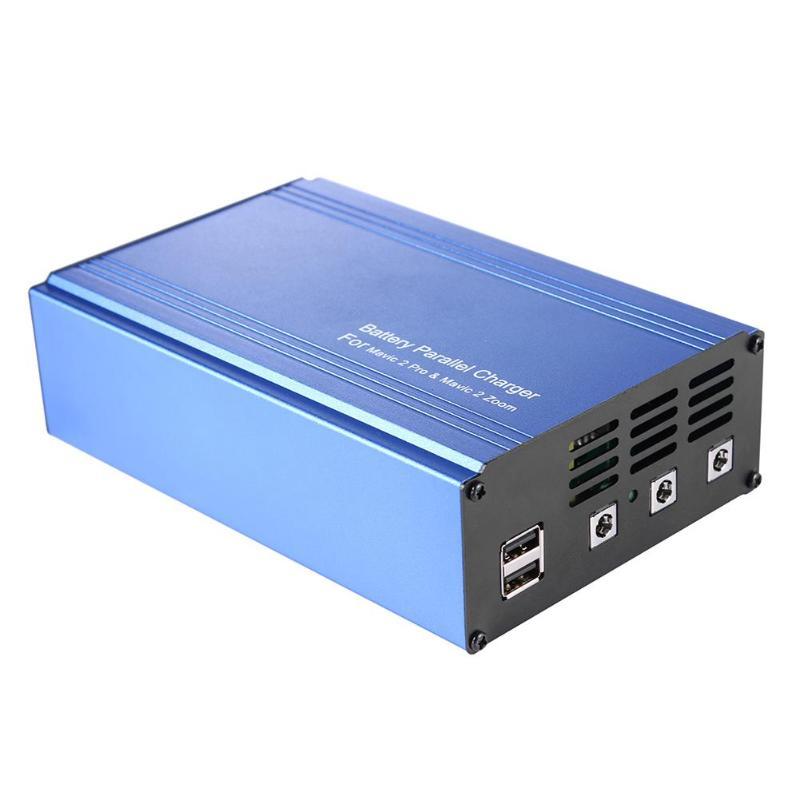 Chargeur de batterie Intelligent adaptateur de moyeu de charge 5 en 1 pour Drone DJI Mavic 2 Zoom/Pro