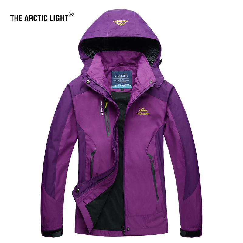 THE ARCTIC LIGHT Camping Hiking Jacket Women Autumn Outdoor Sports Coats Climbing Trekking Windbreaker Travel Waterproof Jackets