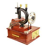 Ретро Классическая ручная швейная машина музыкальная шкатулка Инновационные товары для дома фотостудия High качественные украшения