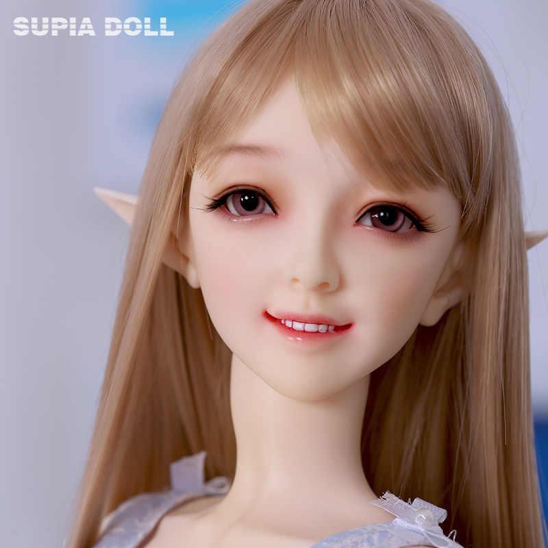 Oueneifs шарнирные куклы SD куклы Supia Hamin 1/3 модель тела для девочек и мальчиков высокое качество игрушки магазин смолы фигурки бесплатные глаза