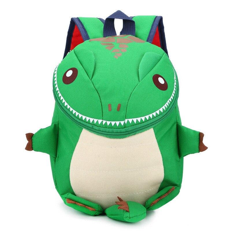 Kids kindergarten shoulder bag Personality fashion dinosaur school backpack in Backpacks from Luggage Bags