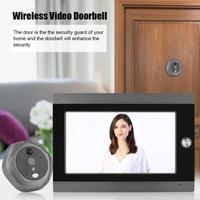 7 Inch WiFi Peephole Door Viewer & Video IP Camera Doorbell Screen IR PIR Door HD Camera Motion Detect DoorBell 2019 Hot Sale