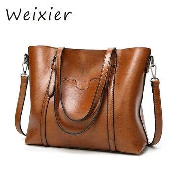 WEIXIER 2019 кожаные женские сумки 2019 новые женские корейские модные сумки через плечо в форме сладкой сумки на плечо NS-50 >> Shop4603006 Store