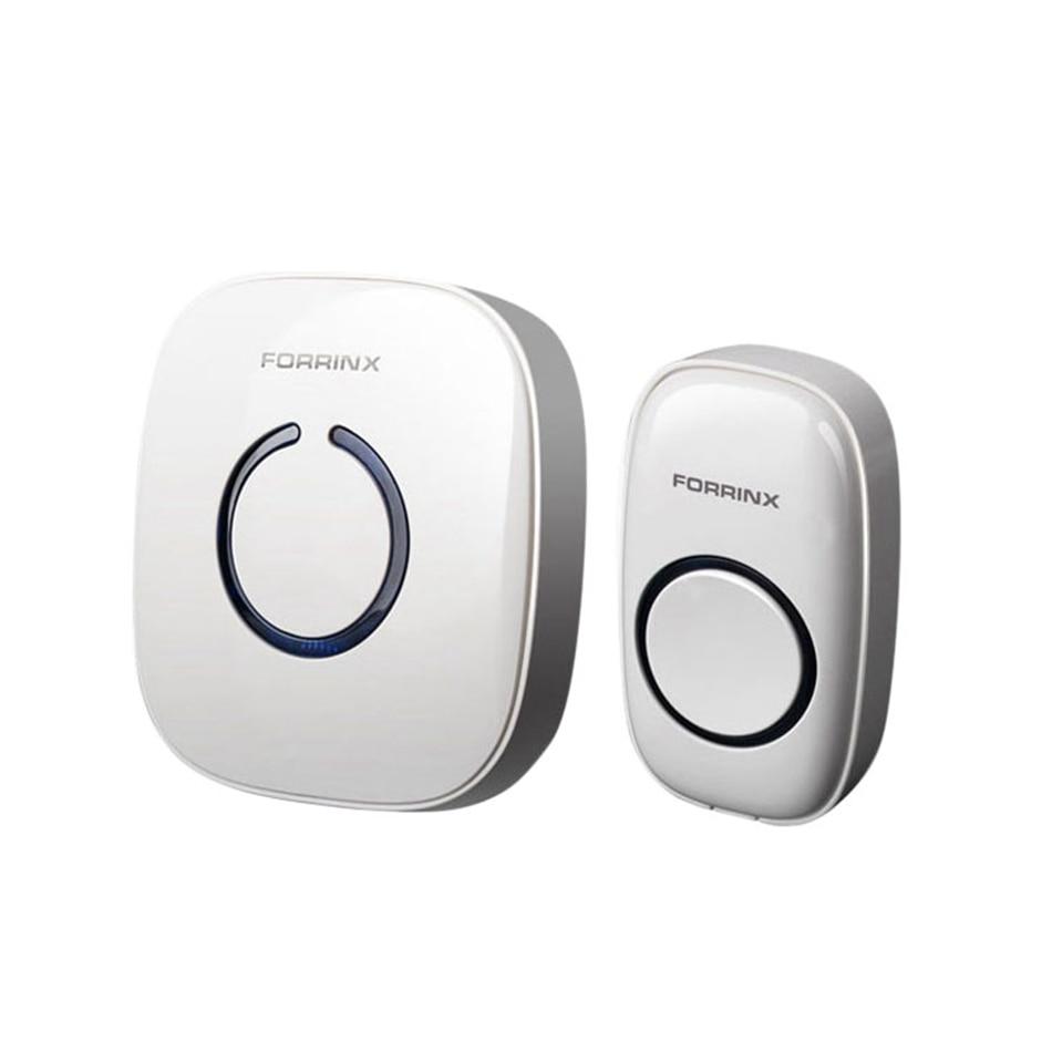 Smart Home Doorbell Digital AC 220-240V Wireless Remote Control Home Office Door Bell - UK Plug
