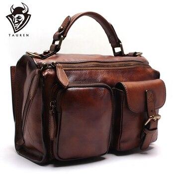 e24358ca3b40 Новая ручная вытирая женская сумка кожаная сумка через плечо сумка ретро  растительного дубления кожа замшевая кожаная сумка