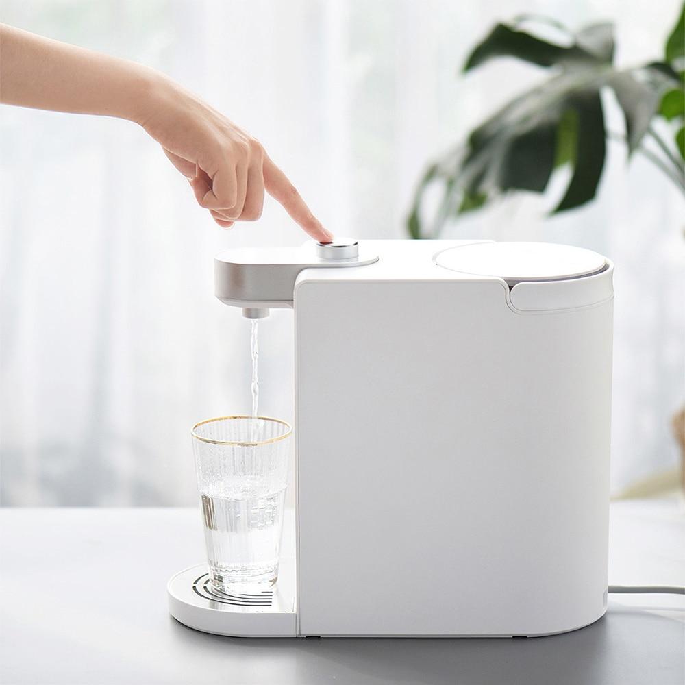 Nouveauté 1.8L intelligent instantané distributeur d'eau chaude température de l'eau réglable fontaine Double chauffage S2101