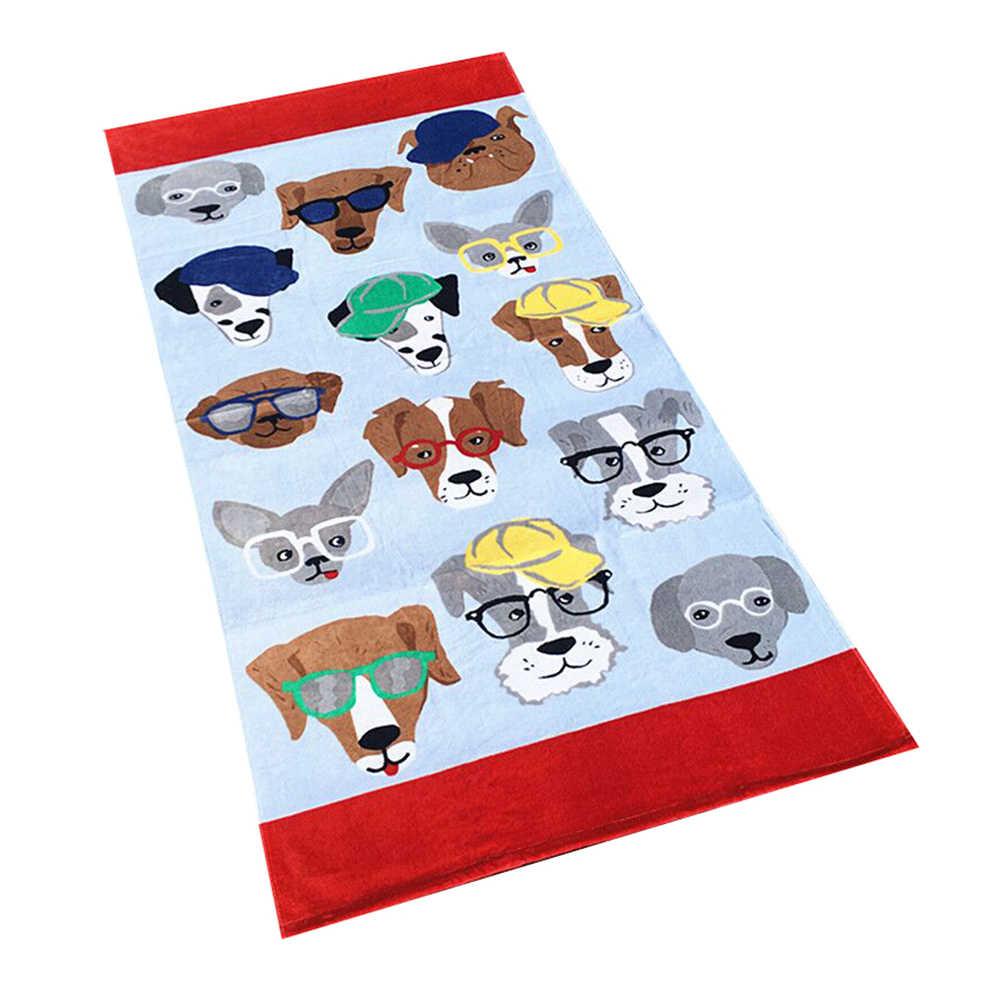 80*160 cm duży ręcznik kąpielowy Quick-Dry z mikrofibry dla dzieci dla dzieci bawełna ręcznik sportowy kąpielowy na plaży podróży camping miękka ręcznik kąpielowy