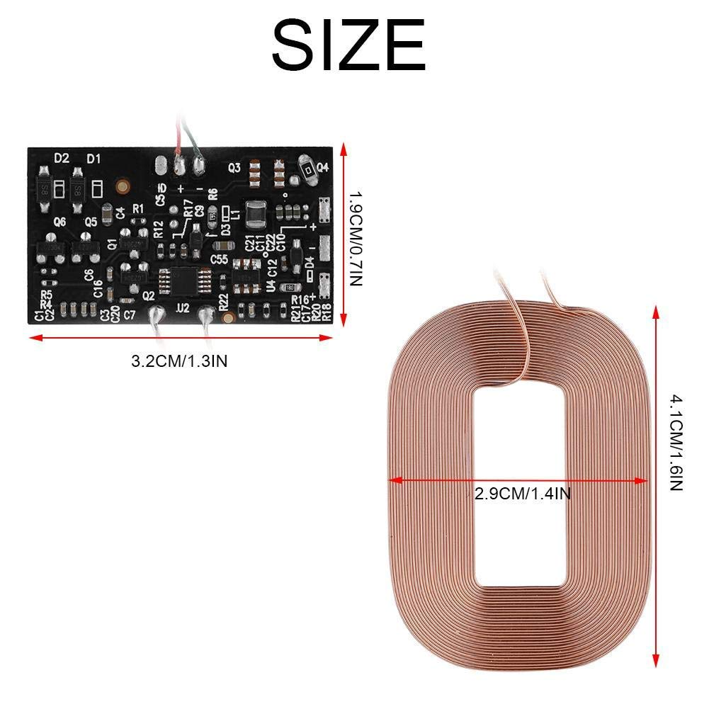 Wireless Charger Pcba Circuit Board Coil Pad For Charging Receiver