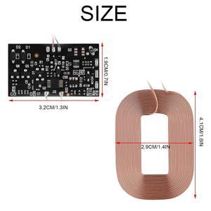 Image 5 - لتقوم بها بنفسك تشى القياسية ملف شحن لاسلكي وحدة الاستقبال PCB لوحة دوائر كهربائية ، 5 فولت 1A Qi سريع لاسلكي شحن وحدة لتقوم بها بنفسك اللاسلكية