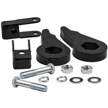 "1""-3"" Leveling Kit Forged Torsion Bar Keys + Shock Extender For GMC Chevy 99-06"