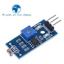 TZT Фоточувствительный датчик сопротивления яркости, модуль, светильник, интенсивность обнаружения, для Arduino