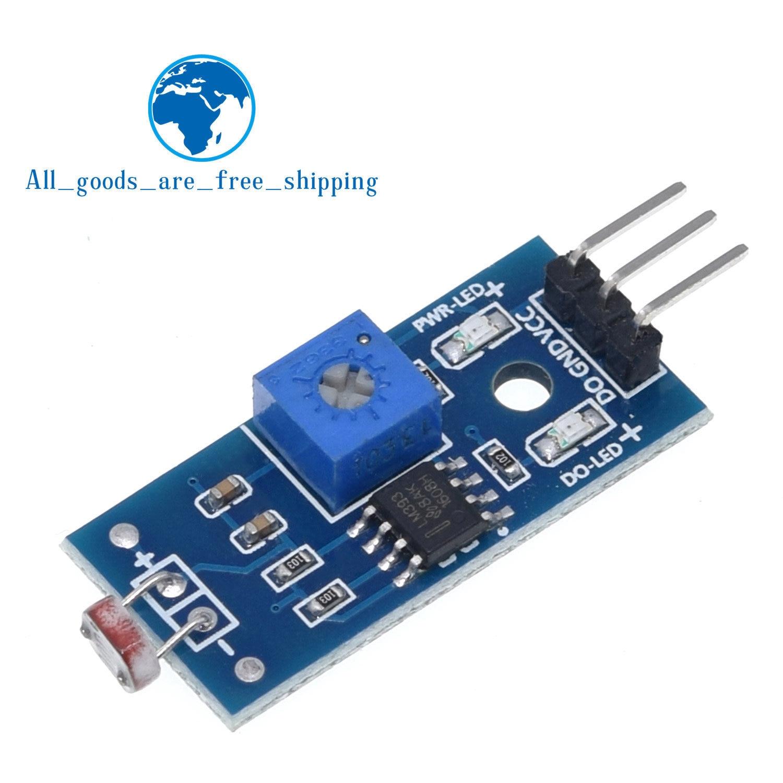 Módulo de luz fotossensível do sensor da resistência do brilho tzt detectar nova para arduino