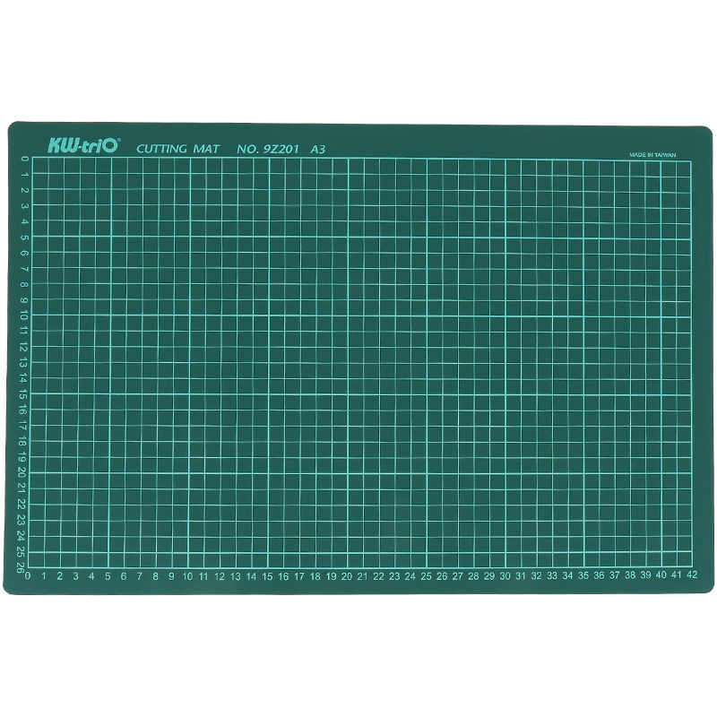 PVC Cutting Mats A3 Cutting Board Patchwork Cut Pad Double-Sided A3 Self-Healing Patchwork DIY Tools School Supplies