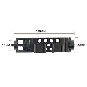 Image 5 - Joint torique rallonge bras adaptateur pince pour DJI Osmo Mobile 2 vidéo Microphone & lumière LED chaussure chaude 1/4 fils & Rosette montage