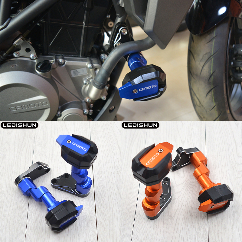 For CFMOTO 250NK 150NK 400NK 650NK CF400NK CF650NK 400 650 NK400 NK650 Frame Sliders Protector Motorcycle