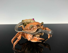Crab Tank Fantasy Resin Figure Model Kit Unassambled Steampunk Crab Chariot Miniature Modelling Assemble DIY Toys Hobby Tools 1 35 fantasy usaf stovl rf 118a with pilot historical toy resin model miniature kit unassembly unpainted