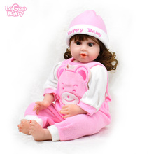 For 20-22'' Silicone Reborn Baby Dolls Clothes Children Toy DIY Newborn Baby bebes reborn doll Silicone Baby clothes Set novelty native american indian reborn baby doll with clothes 20 lifelike baby silicone reborn dolls toys for children