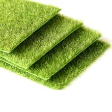 Мода трава масштаб мат Масштаб Модель расположения поезда трава коврик квадратный пейзаж листва пейзаж Хо детские игрушки