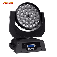 36x10w GBRW 4in1 Wash/Zoon Light DMX512 Moving Head Light
