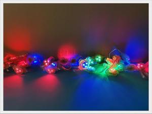 Image 5 - HA CONDOTTO LA luce pixel modulo WS 2811 exposed luce string punto luce WS8206 / WS2811 SMD3535 3 LED DC12V 30 millimetri * 30mm * 15 millimetri programmabile