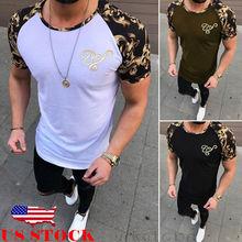 Brand Hit Color Short sleeve Men T-shirt 2019 Casual Summer
