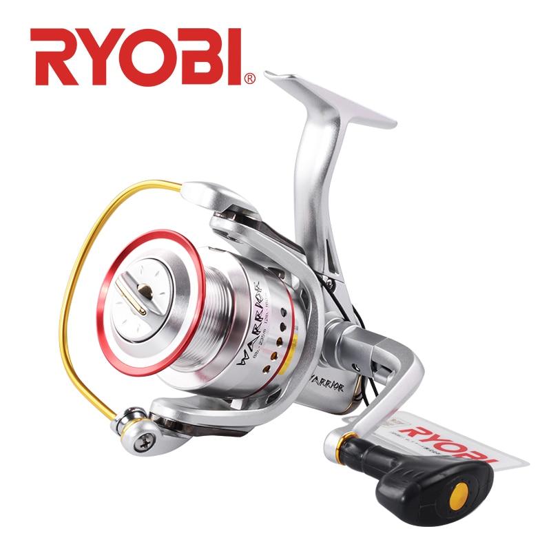 RYOBI guerrier SI moulinet de pêche moulinet 1000 2000 3000 4000 6000 8000 roue d'eau salée 6 + 1BB rapport de vitesse corps en métal