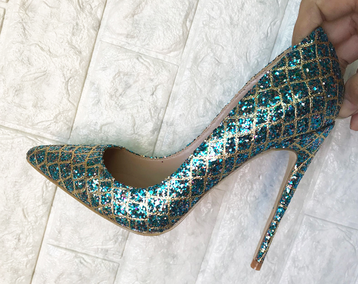Pour 8 Cm Cm green 12 Pointu Mince 10 Green Chaussures Bling Hauts Cm Pompes Orteil Talons Célébrité Soirée Gladiateur Femme Stilettos Dames Grille Sexy gold Paillettes RUHwqO4R