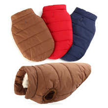 Christmas Pet Coat Autumn Winter Sleeveless Dogs Cats Costumes Vest Style Windproof Warm Cotton Clothes Buckle