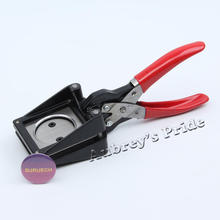 Hand Held Manual Round Actual Cutting Size 25 28 30 32 35 37 38 40 44 48.5MM Paper Graphic Punch Die Cutter
