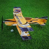 Mini biplane Hornet 400mm Wingspan 3D Fixed wing RC Airplane Aircraft Epp D Board Indoor Outdoor F3P KIT 57g Mini Kids Gifts