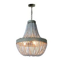 Antiguo Retro Loft Vintage lámparas colgantes LED ronda rústica cuentas colgantes luces Hotel Sala lámpara colgante para habitación accesorios de cocina