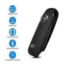 IDV007 Full HD 1080 P 12MP Mini DV Камера регистраторы носимых тела велосипед H.264 видеокамера с обнаружением движения