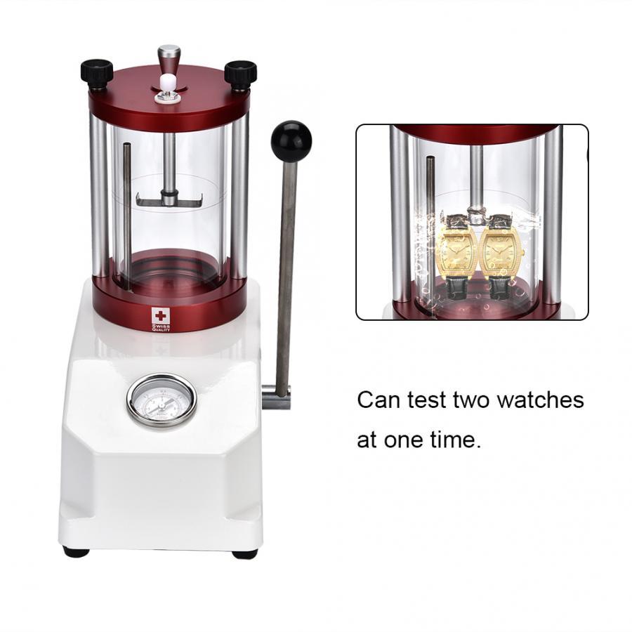 높은 품질 시계 방수 테스터 도구 2 시계 케이스 저항 압력 테스트 기계 시계 수리 도구 시계 제조 업체 c-에서수리 도구 & 키트부터 시계 의  그룹 1