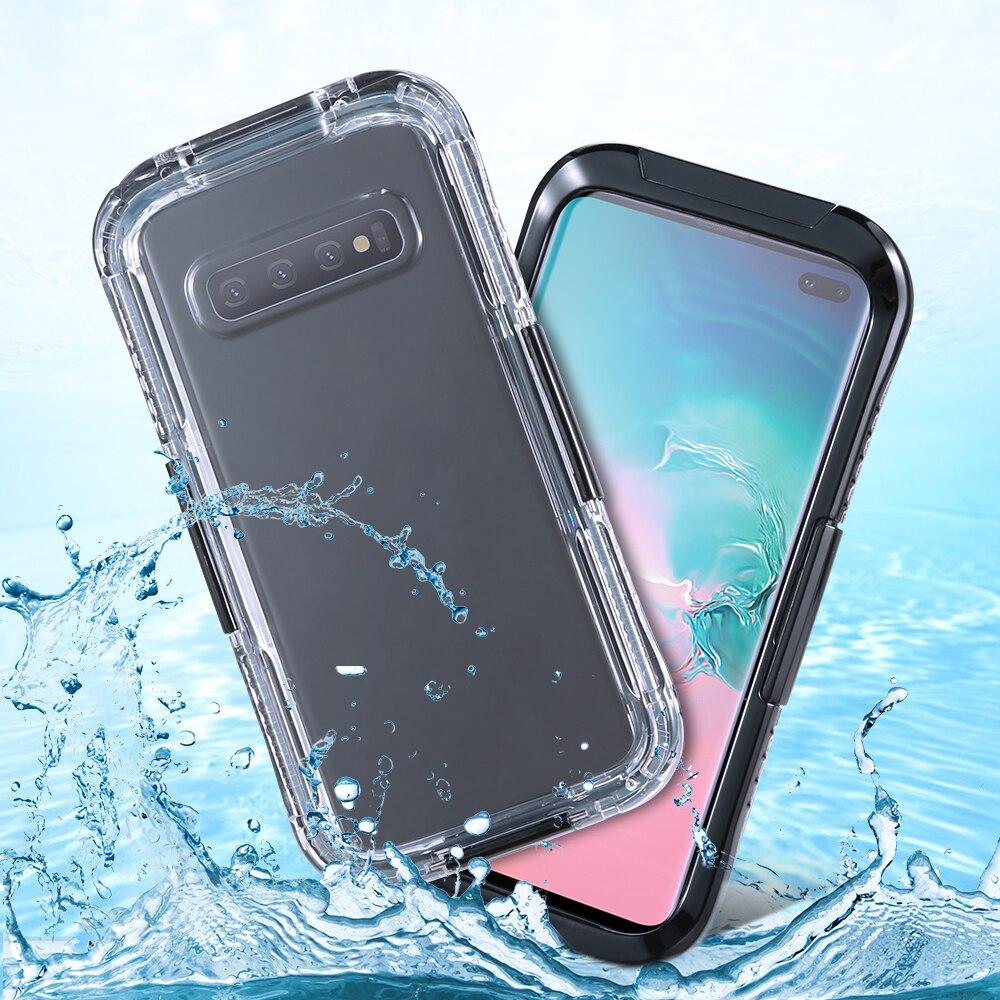 Waterproof Phone Case For Samsung Galaxy S10 Plus S10E Note 9 8 360 Full Underwater Fundas For Galaxy S6 S7 Edge S8 S9 Plus S5 pochette étanche pour téléphone