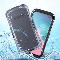 Funda de teléfono impermeable para Samsung Galaxy S10 Plus S10E Note 9 8 360 funda subacuática completa para Galaxy S6 S7 borde S8 S9 más S5